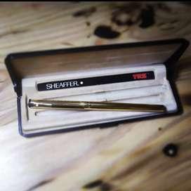 Sheaffer TRZ Fountain Pen Model 70 Lapis emas 23 K Made in USA