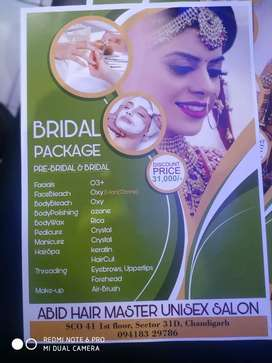 Bridal package with discount rs 31000