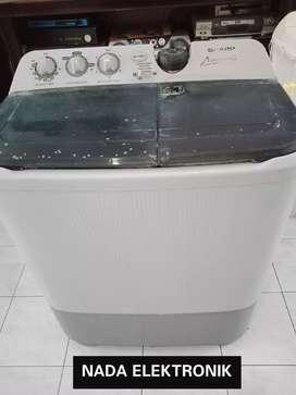 Mesin cuci 9,5kilo *SHARP SUPER AQUAMAGIC+garansi+gratis ongkir+oke