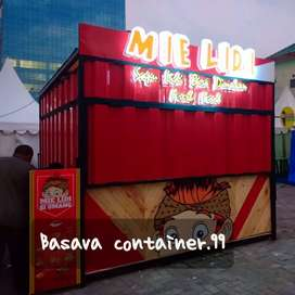 Booth container- container mie lidi- container makanan- container