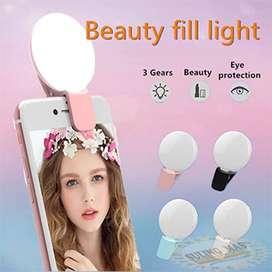 Lampu Selfie Mini Q Portable Ring Light / Lampu Laptop