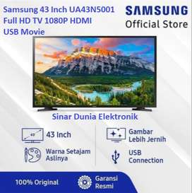 Samsung LED TV 43 Inch Digital Full HD HDMI USB Movie UA43N5001 FHD