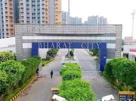 Bharat city apartments  good location zym park swimming pool
