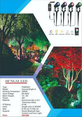 LAMPU SOROT FULL COLLOR - LAMPU RGBW FLOOR LIGHT MURAH