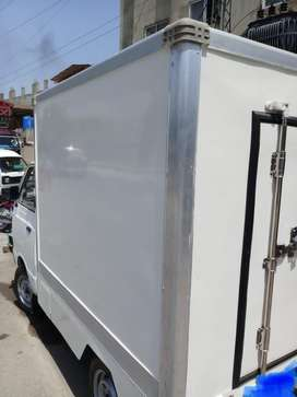 Refrigerated pick up suzuki ravi reefer container