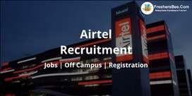 Airtel process job openings in Delhi