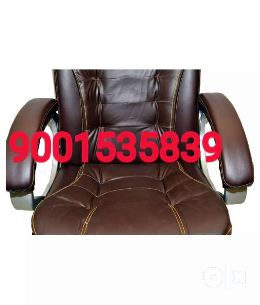 Office chair with soft silver colour arm office furniture 0