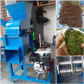 JUAL MURAH 1 set mesin pencacah RUMPUT dan giling kohe