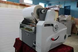 Thermal lamination machine(both side)