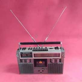 tape radio jvc jadul vintage antik lawas kuno rare langka klasik