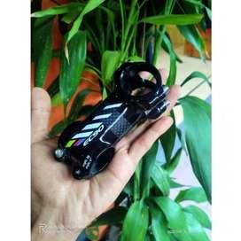 stem carbon EC90 roadbike MTB 6° derajat handlebar
