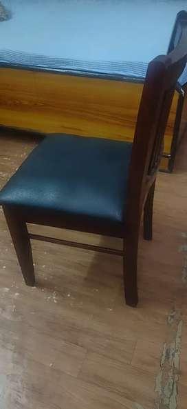 chairs and racks