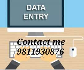 Data entry part time work from home