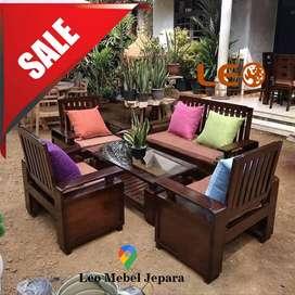 Kursi Tamu Minimalis Furniture Jepara, Leo Mebel Jepara