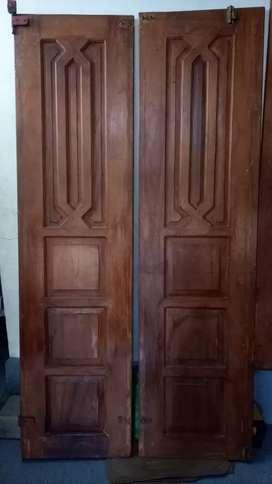 Dijual Pintu Jati (4 unit)