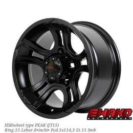 Peak R15 H5 Smb - Velg Mobil Racing Hsr Wheel Import (free ongkir)