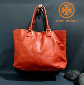 tas Tory Burch soft leather tote