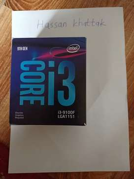 I3 9100f(With box) for sale/Best offer!