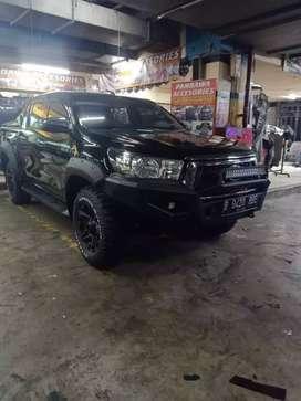 Bumper Depan Hilux Model BullBar Infort Thailand.