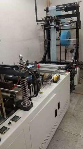 Face mask making machine & loop welding machine