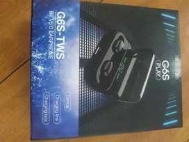 G6S Bluetooth Earphone Earbuds 8D HD Stereo Wireless