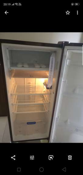 230 litre single door fridge available for steal price