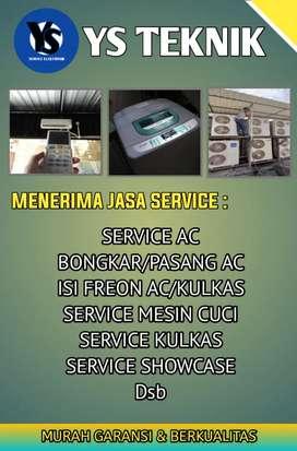 Service Ac Kulkas Mesin Cuci Showcase Dll
