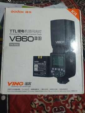 Godox flash v860 iis and trigger x1t-s