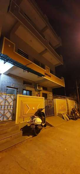 House for sale 3BHK duplex with furnished kitchen and bed rooms