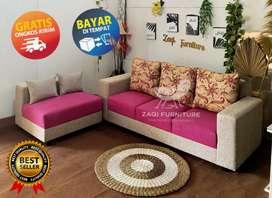 Sofa L minimalis termurah