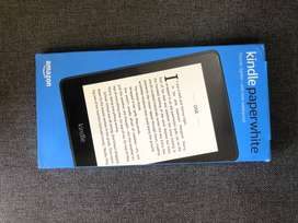 Kindle Paperwhite (10th gen) - Waterproof, 32 GB, WiFi + Free 4G LTE