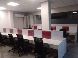 Fully-furnished 500 sqft office space on 2nd floor in phase-8B, Mohali