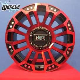 jual velg modif xpander r18 MYTH05 HSR R18X8 H10X100-114,3 ET40 BK RED