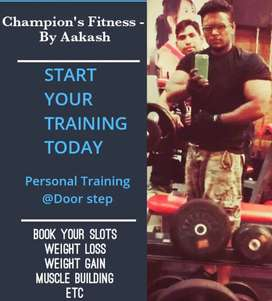Personal Trainer online and Home