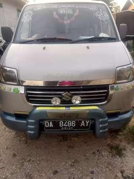 Jual cepat mobil APV GX PJK plat hidup barang bersih