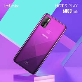 Murah! Infinix hot 9 play layar 6,82 inc. Ram 4gb