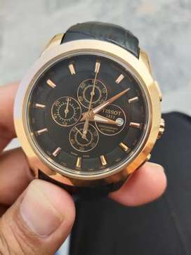 Tissott only Rs.8500 final  coronograph watch