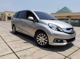 Honda Mobilio 1.5 E CVT Matic 2014 km 78rb plat Genap