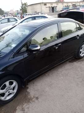 Honda Civic 2007 on Easy EMI Process 20%D.P One Step Solution Pvt.Ltd