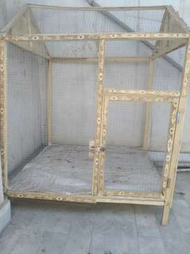 New strong wooden cage