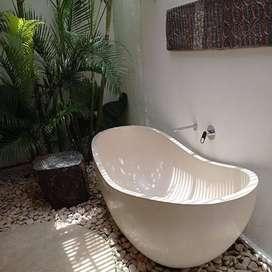 Bathtub Gamain Halkui Mewah Terrazzo