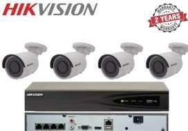 Hikvision 4 camera turbo hd FREE PASANG + SETTING ONLINE