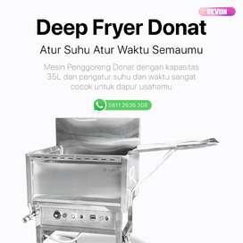 Deep Fryer Donat Alat Penggoreng Donat Otomatis Untuk Usaha pontianak