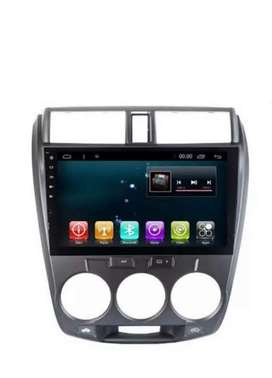 Honda City- 10 inches Andriod system and case