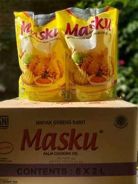 Minyak Goreng Merk MASKU 2L