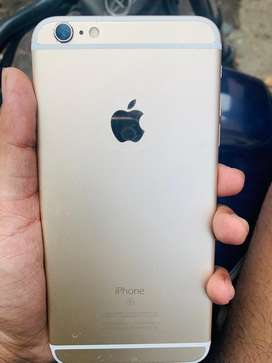I phone 6s plus in good condition gold