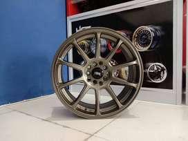 Velg Mobil HSR ZICO Ring 17 Lebar 75 pcd10X100-114,3 ET40 Untuk Triton