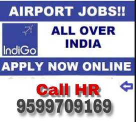All over india vacancy in indigo airline 2019