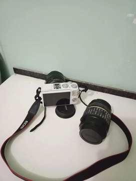 Cannon Eos M3 + Lensa Sapu jagat + Lensa Fix