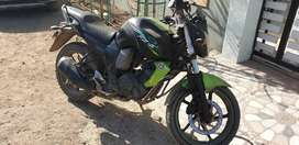 FZs Black & Green version well maintained Bike